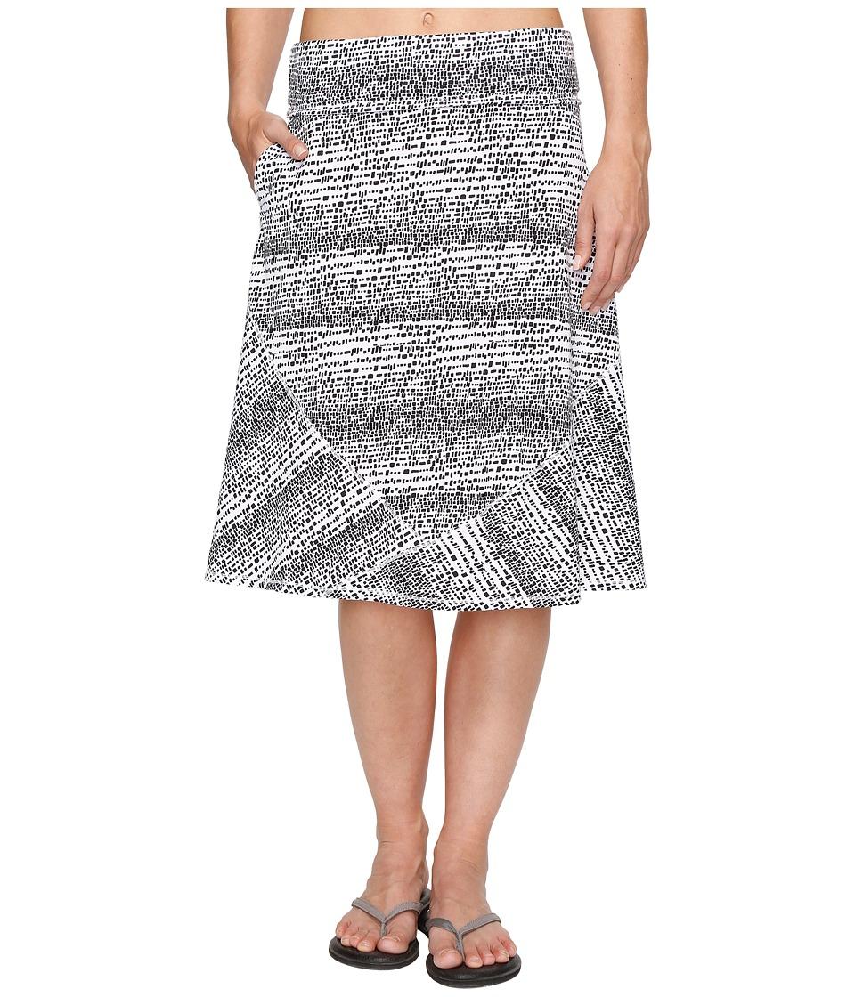 ExOfficio Wanderlux Convertible Skirt (Black/White) Women