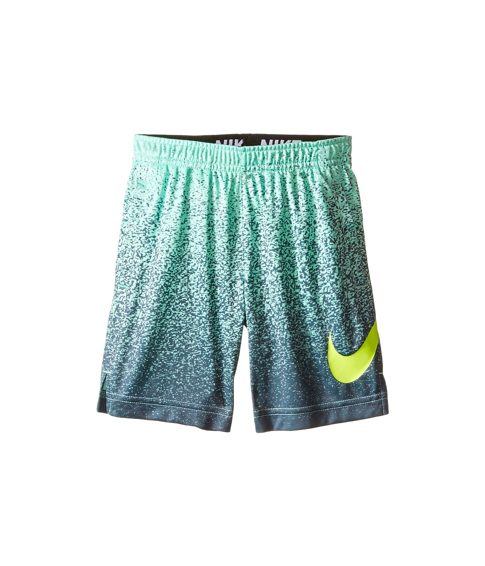 Nike Kids - Dry Printed Shorts (Toddler) (Green Glow) Boy's Shorts