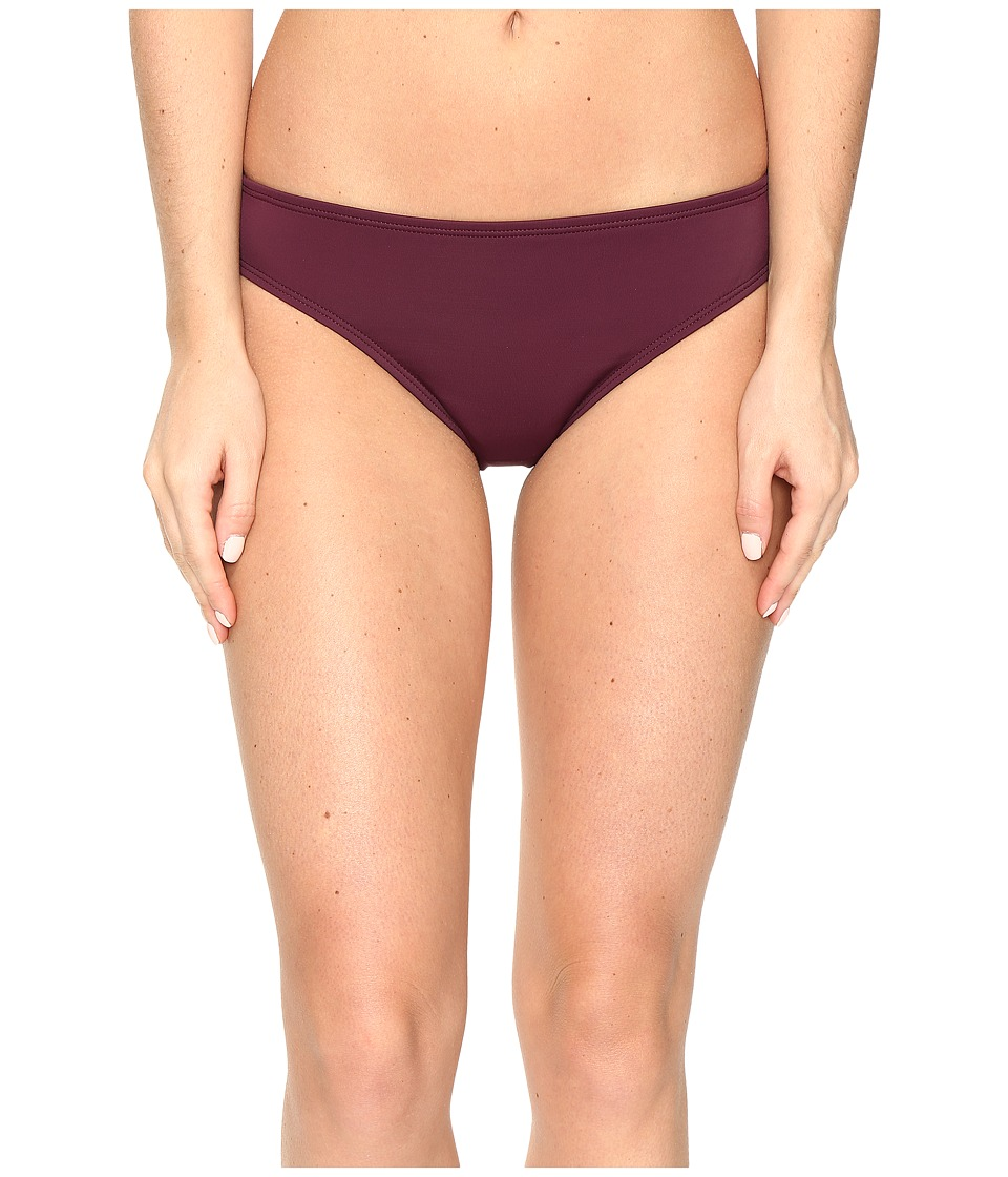 Nautica Soho Retro Bikini Bottom (Berry) Women