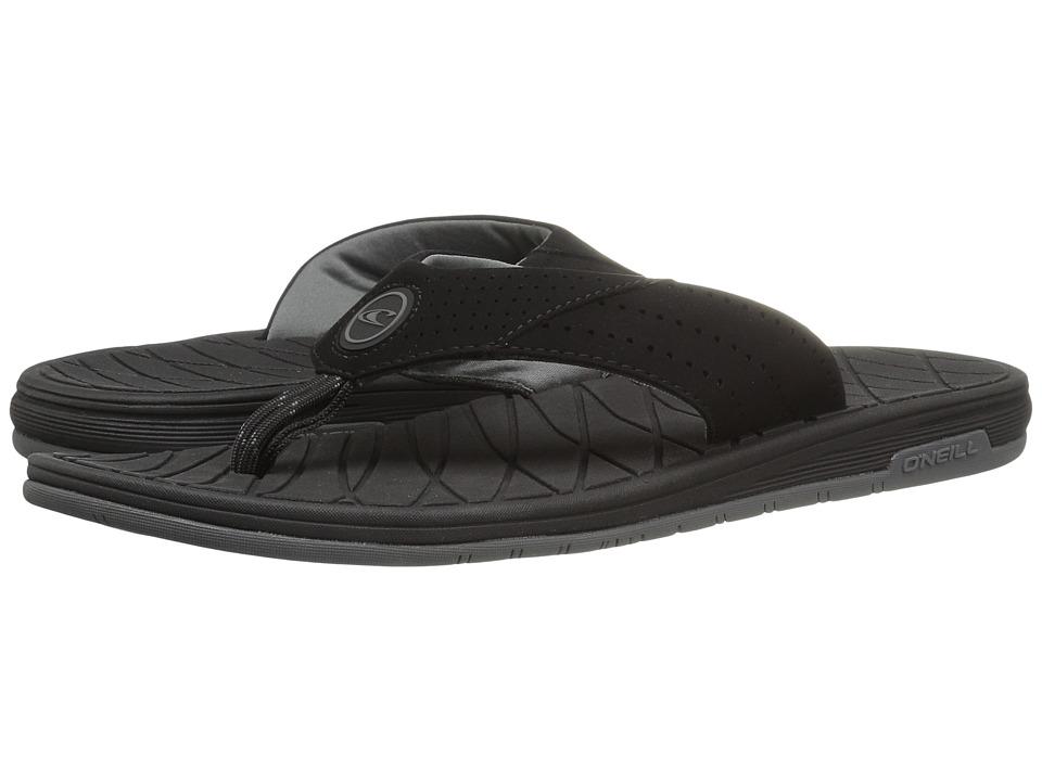 O'Neill - Traveler Sandal (Black/Grey) Men's Sandals