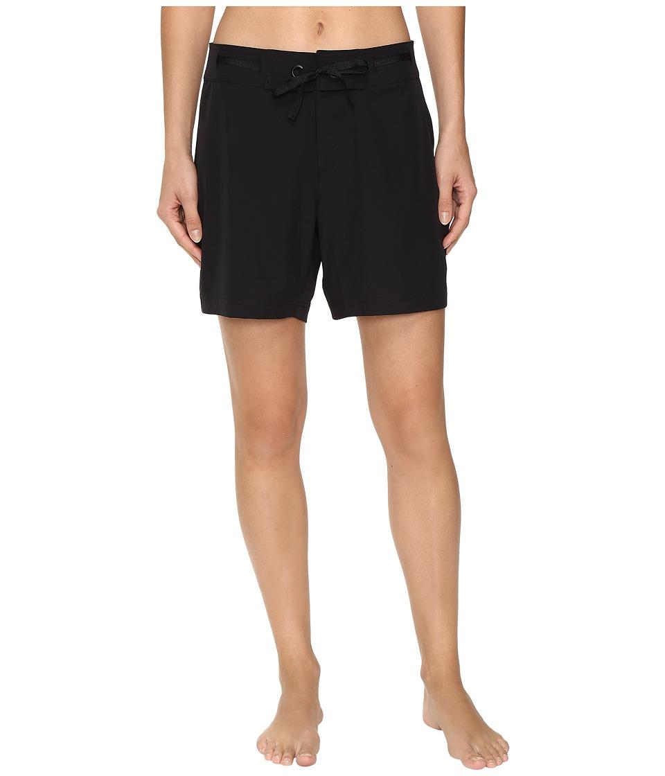 Next by Athena - Good Karma Beachbreak Boardshorts (Black) Women's Swimwear