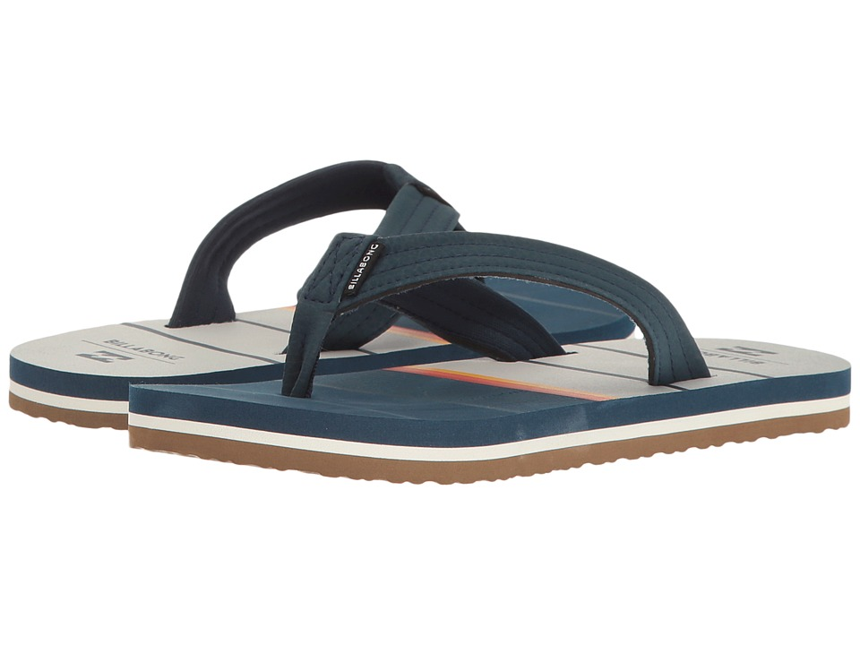 Billabong - Stoked Sandal (Little Kid/Big Kid) (Navy) Men's Sandals