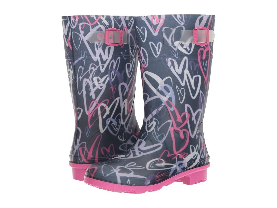 Kamik Kids Scribble (Little Kid/Big Kid) (Navy) Girls Shoes