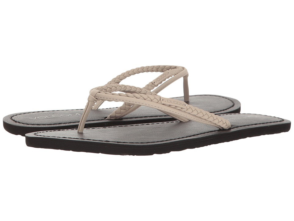 Volcom - Tour Sandal (Light Grey) Women's Sandals