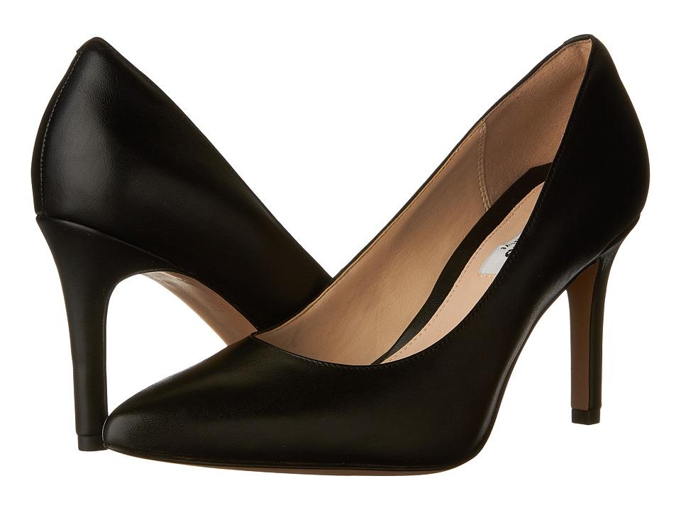 Clarks - Dinah Keer (Black Leather) Women's Shoes
