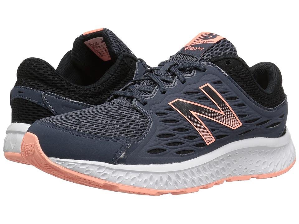 New Balance 420v3 (Thunder/Black/Bleached Sunrise) Women\u0027s Running Shoes