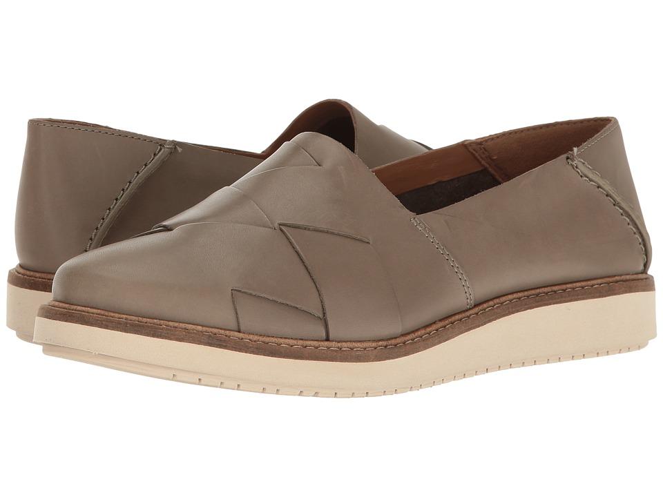 Clarks - Glick Harvest (Sage Leather) Women's Shoes