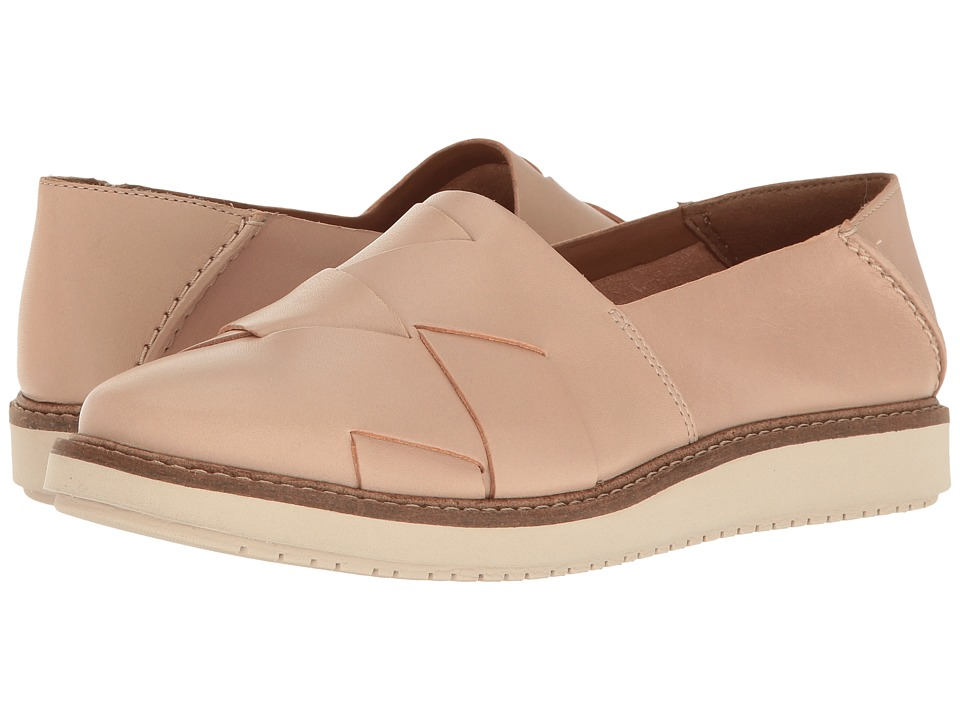 Clarks - Glick Harvest (Nude Leather) Women's Shoes