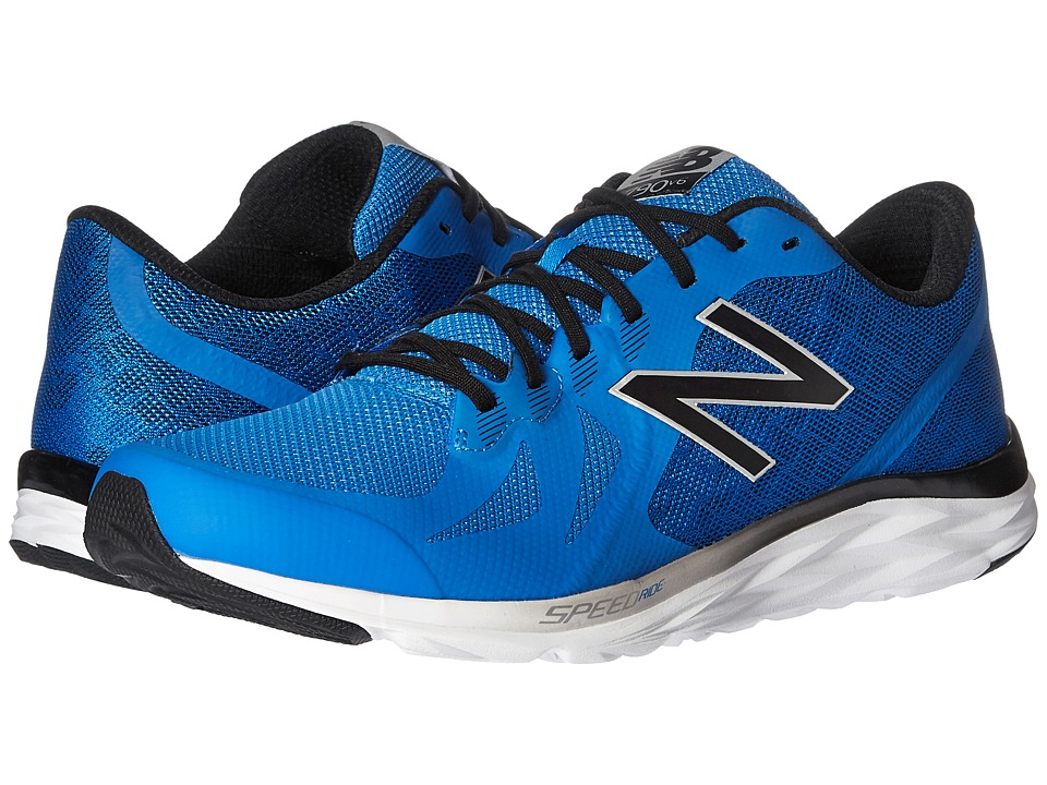 New Balance - 790v6 (Electric Blue/Black/Hi-Lite) Men's Running Shoes
