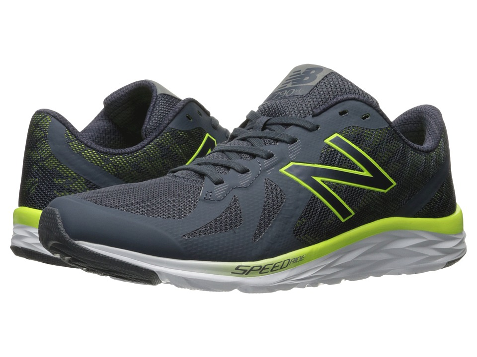 New Balance - 790v6 (Thunder/Hi-Lite) Men's Running Shoes