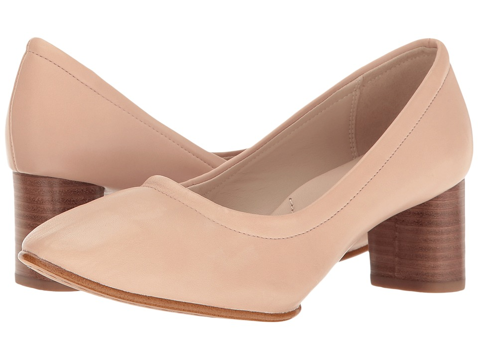 Clarks - Grace Isabella (Nude Pink Leather) Women's Sandals