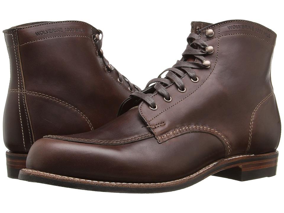 Wolverine - Courtland (Brown) Men's Work Boots