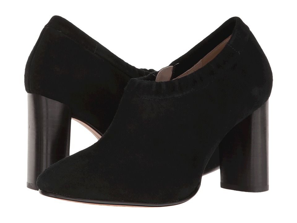 Clarks - Grace Lola (Black Suede) Women's Shoes