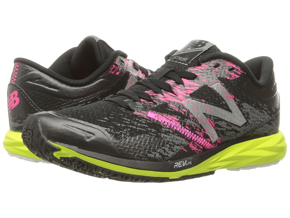 New Balance - Strobe (Black/Grey/Lime Glo) Women's Running Shoes