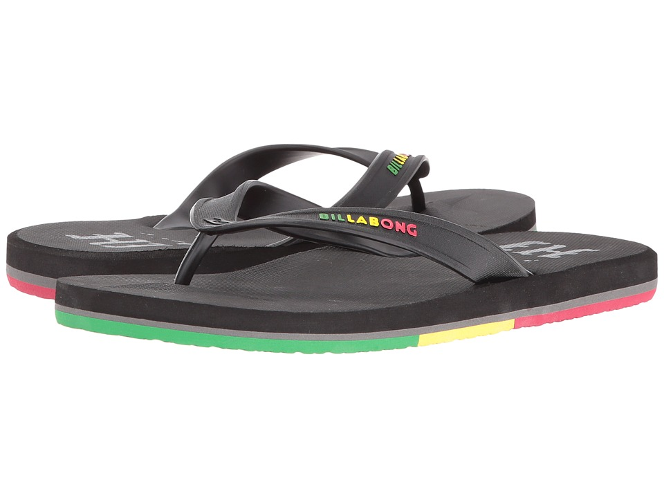 Billabong - All Day Hawaii (Rasta) Men's Sandals