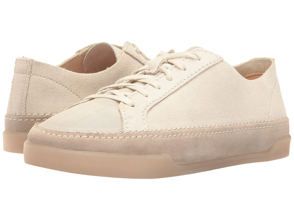Clarks - Hidi Holly (White Combi Leather) Women's Shoes