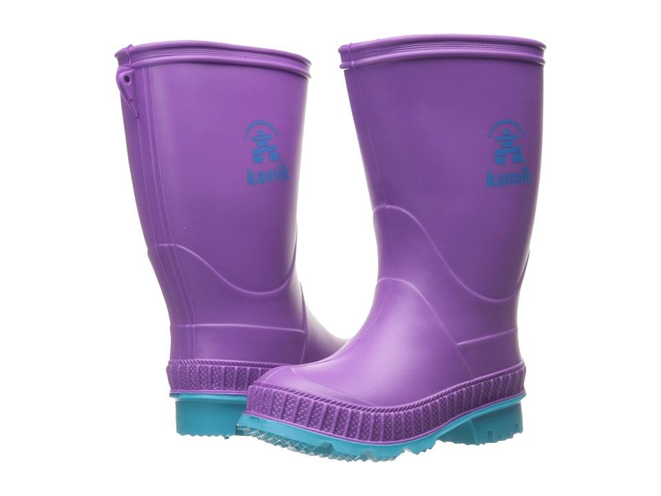Kamik Kids Stomp (Toddler/Little Kid/Big Kid) (Dewberry) Girls Shoes
