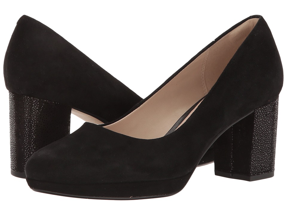 Clarks - Kelda Hope (Black Interest) Women's Shoes