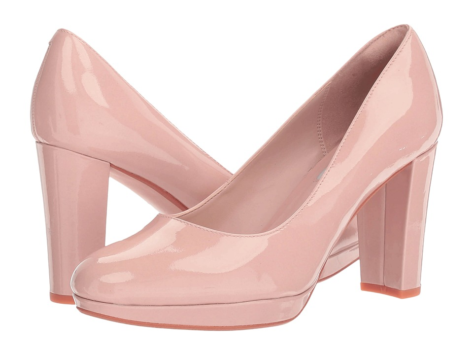 Clarks - Kendra Sienna (Nude Patent) High Heels