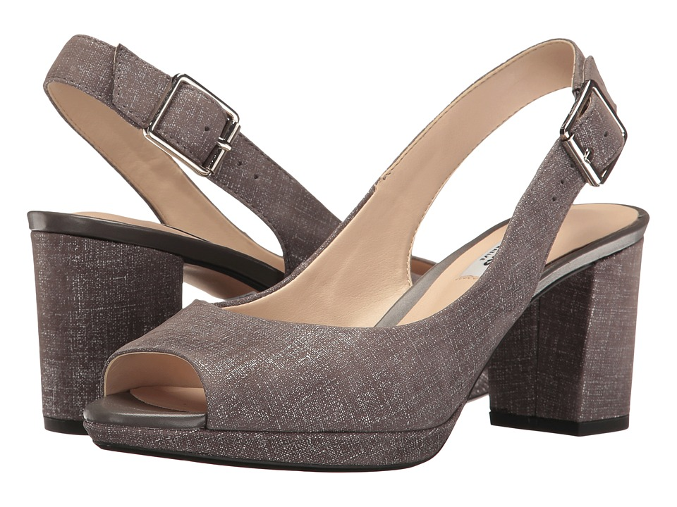 Clarks - Kelda Spring (Dark Grey Interest) Women's Shoes