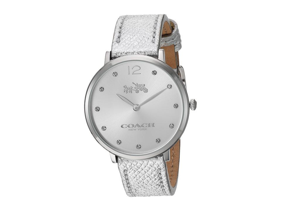 COACH - Slim Easton - 14502685 (Chalk) Watches