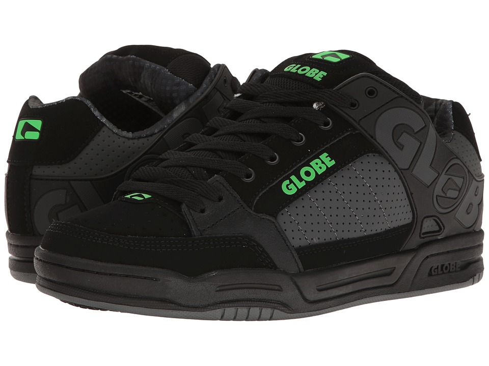 Globe - Tilt (Black/Camo/Moto Green) Men's Skate Shoes