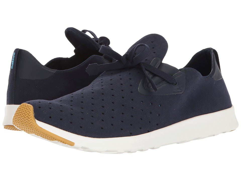 Native Shoes - Apollo Moc (Regatta Blue/Shell White/Natural Rubber 2) Shoes