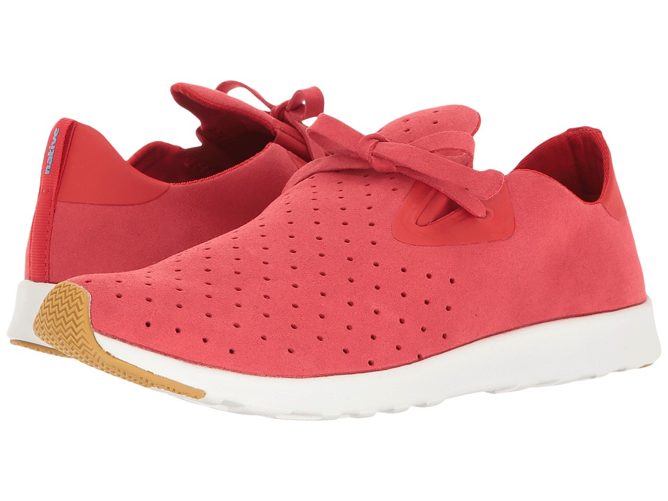 Native Shoes - Apollo Moc (Torch Red/Shell White/Natural Rubber 2) Shoes