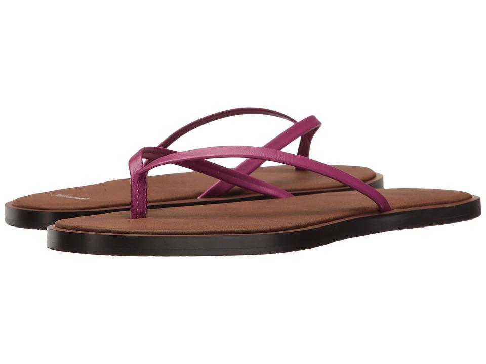 Sanuk - Yoga Aurora (Vivid Violet) Women's Sandals