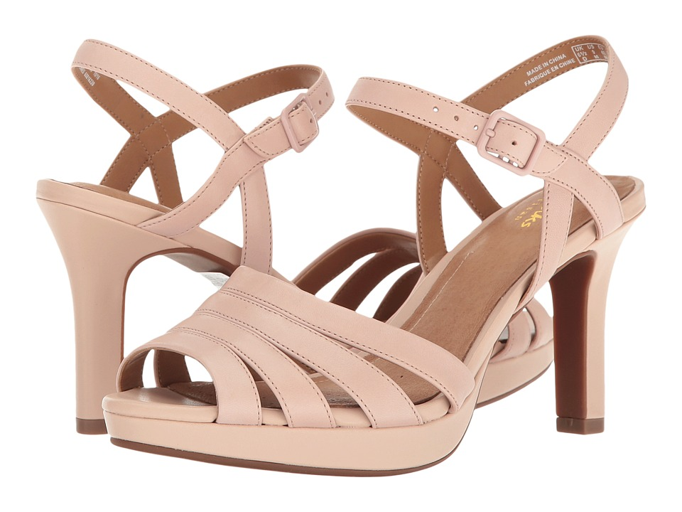 Clarks - Mayra Poppy (Dusty Pink Leather) Women's Sandals