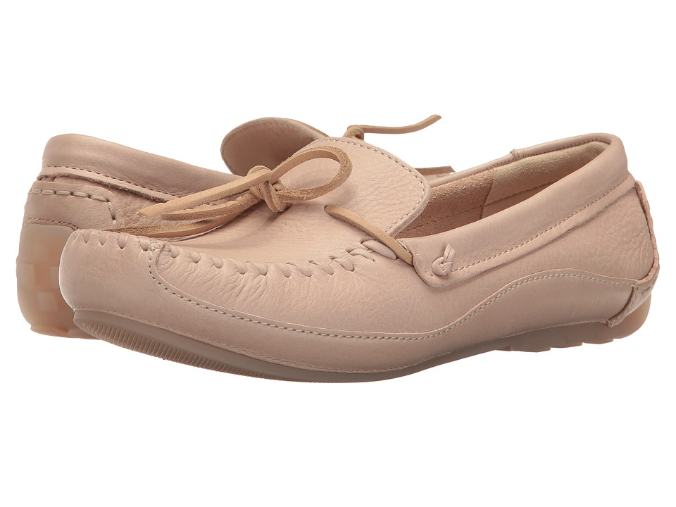 Clarks - Natala Rio (Nude Nubuck) Women's Shoes