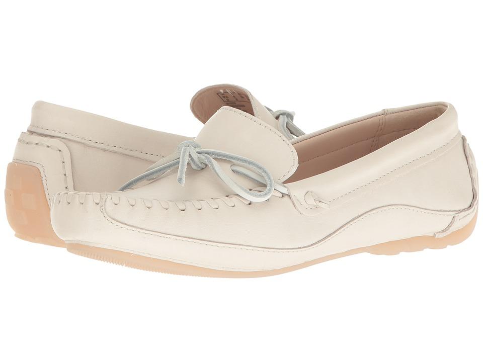Clarks - Natala Rio (White Leather) Women's Shoes