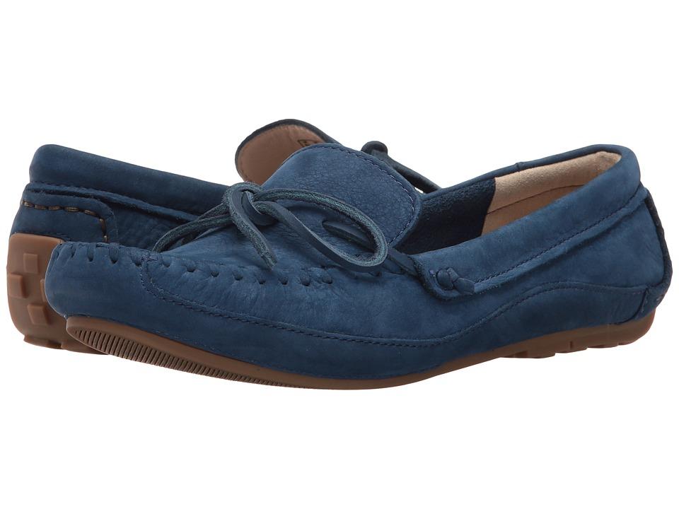 Clarks - Natala Rio (Dark Blue Nubuck) Women's Shoes