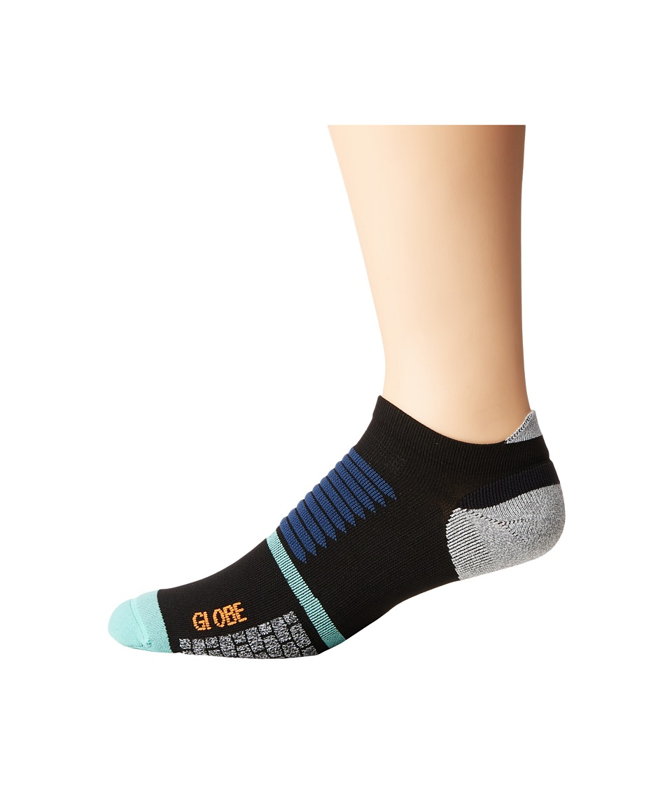 Globe - Hikari Skate Socks (Black) Men's Low Cut Socks Shoes