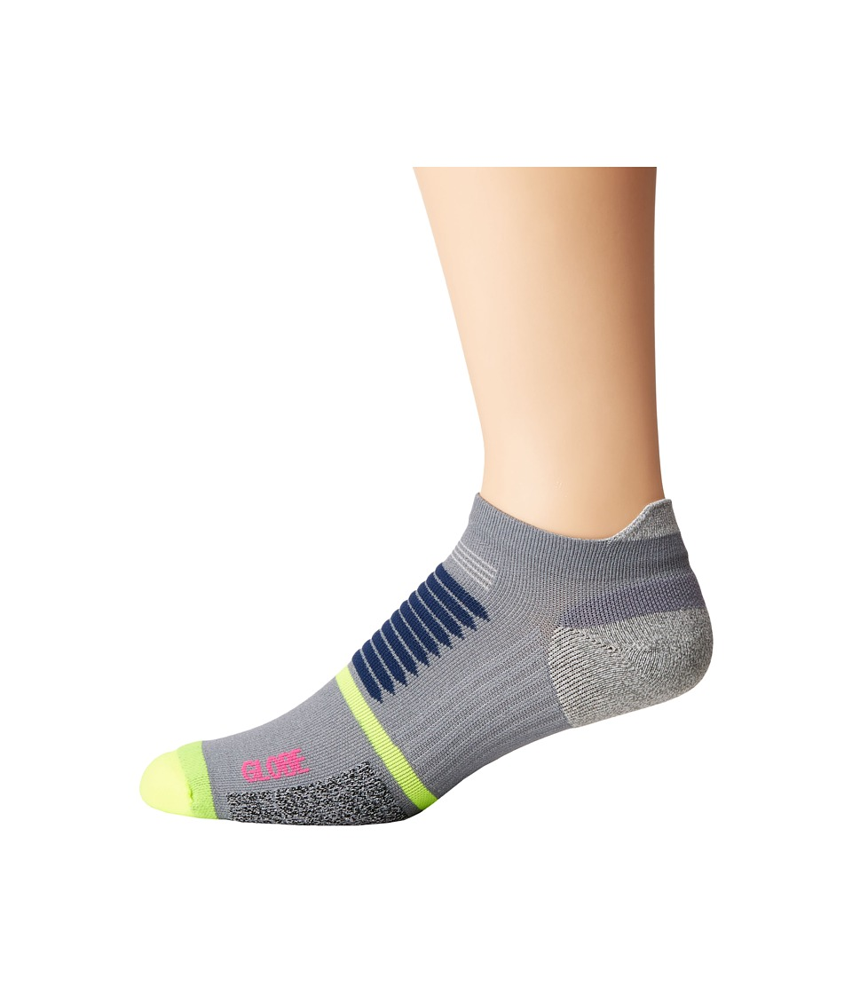 Globe - Hikari Skate Socks (Grey) Men's Low Cut Socks Shoes