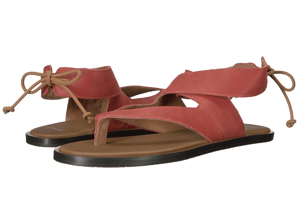 Sanuk - Yoga Mariposa (Auburn) Women's Sandals
