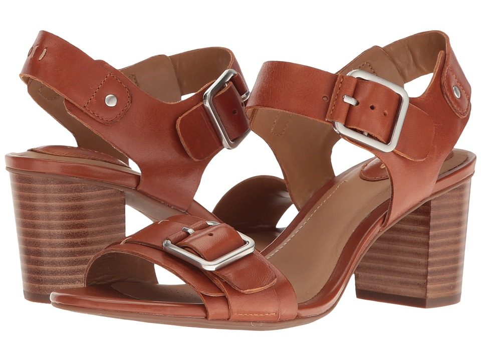 Clarks - Ralene Dazzle (Tan Leather) Women's Sandals