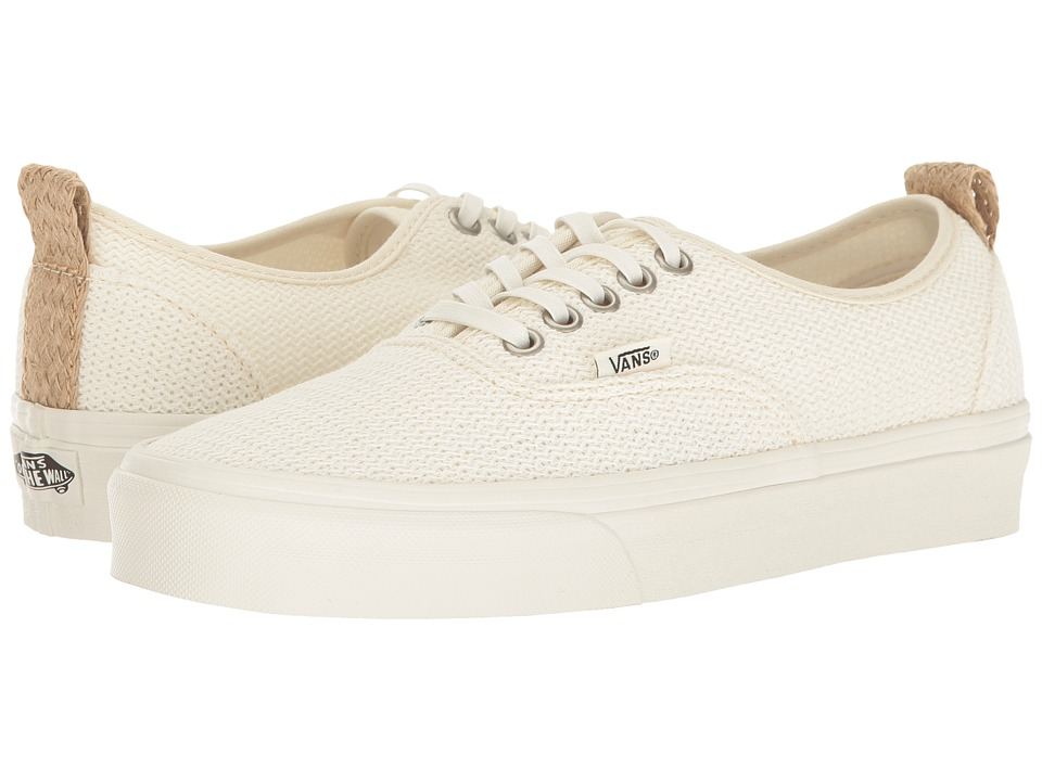 Vans - Authentic PT ((Basket Weave) Marshmallow) Shoes