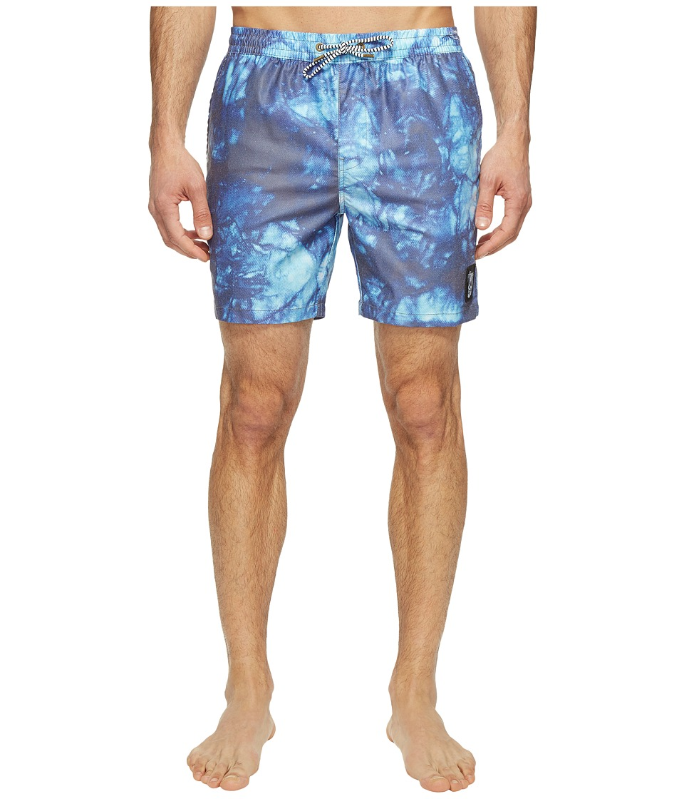 Globe - Evil Paradise Poolshorts (Cobalt) Men's Swimwear