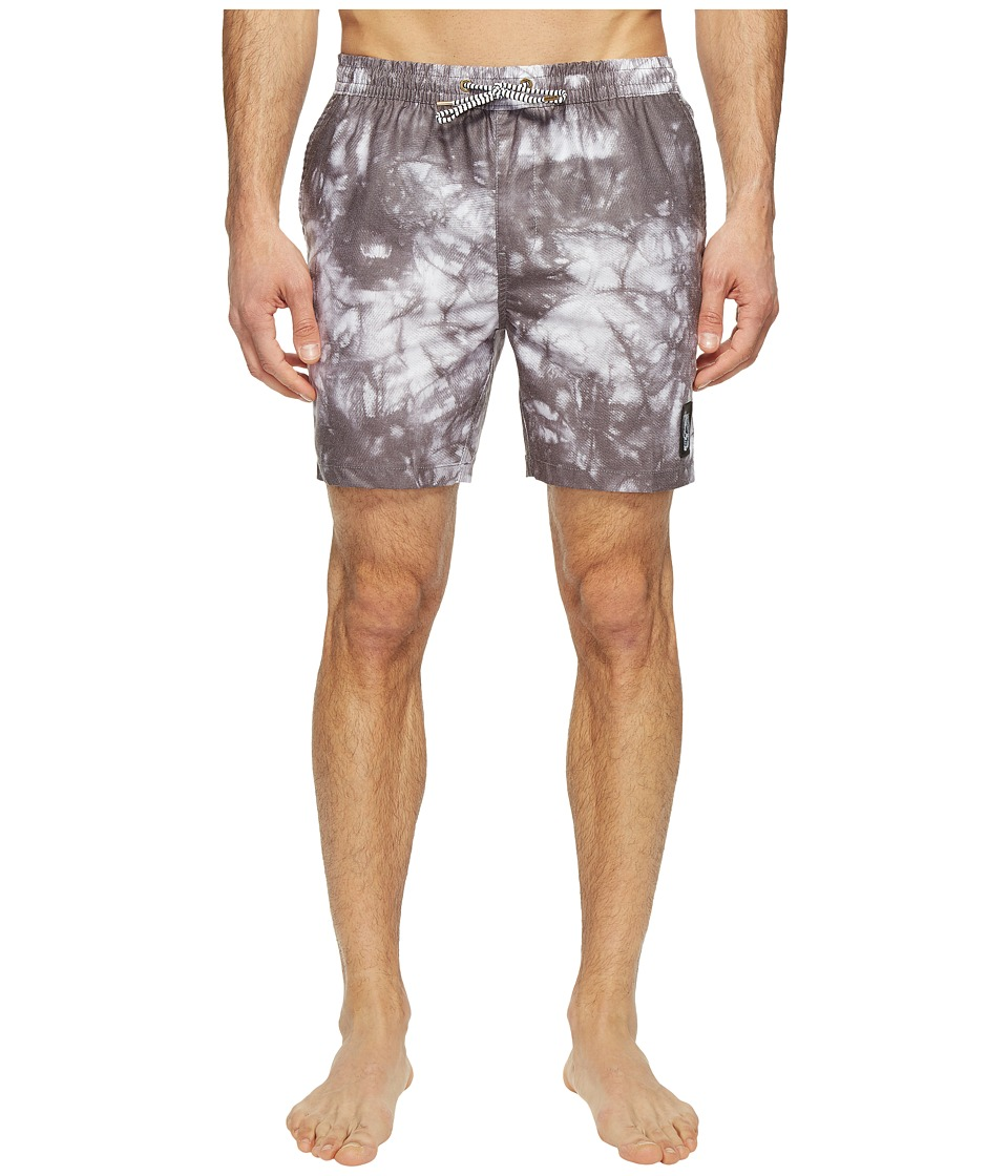 Globe - Evil Paradise Poolshorts (Black) Men's Swimwear