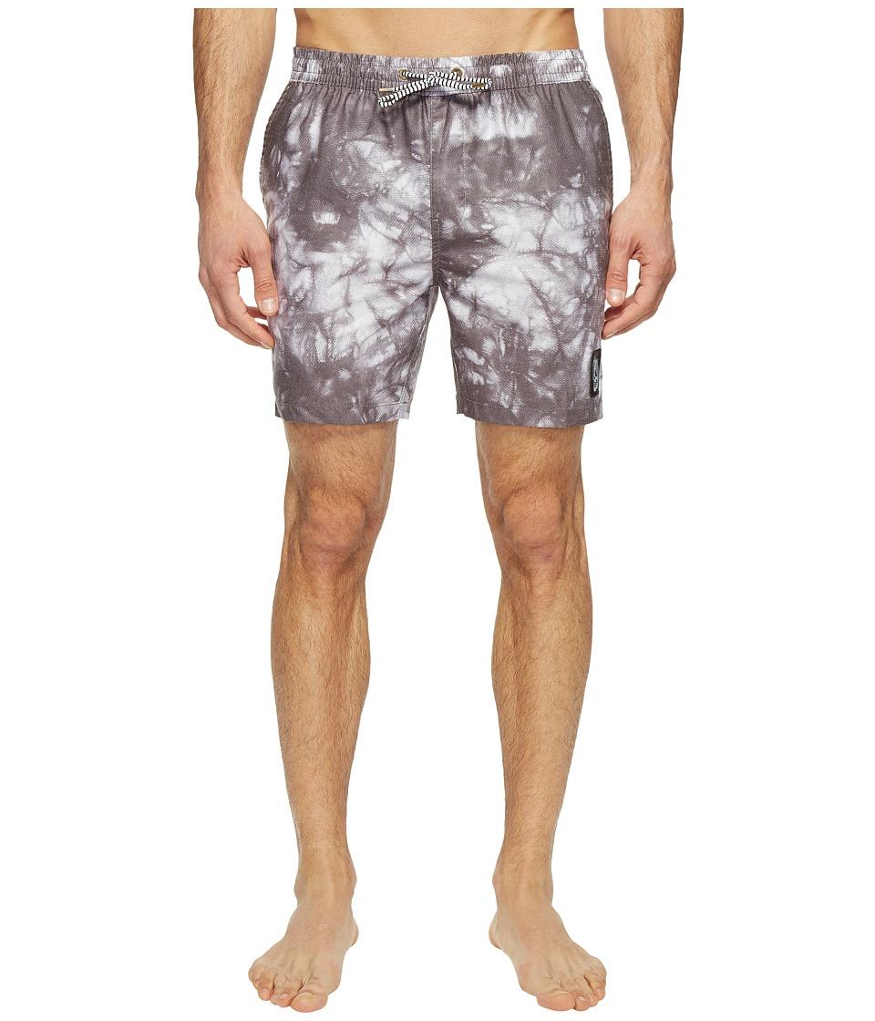 Globe - Evil Paradise Poolshorts (Black) Men's Swimwear