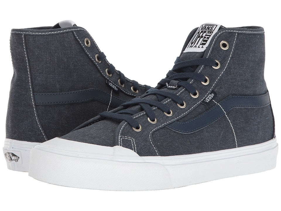 Vans - Black Ball Hi SF ((Washed) Dress Blues) Men's Shoes