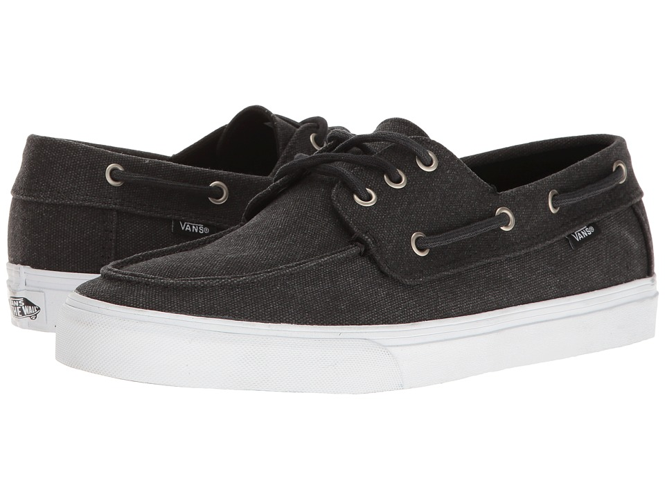 Vans - Chauffeur SF ((Washed) Black) Men's Shoes