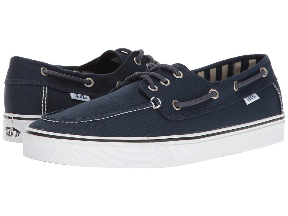 Vans - Chauffeur SF (Dress Blues/Stripes) Men's Shoes