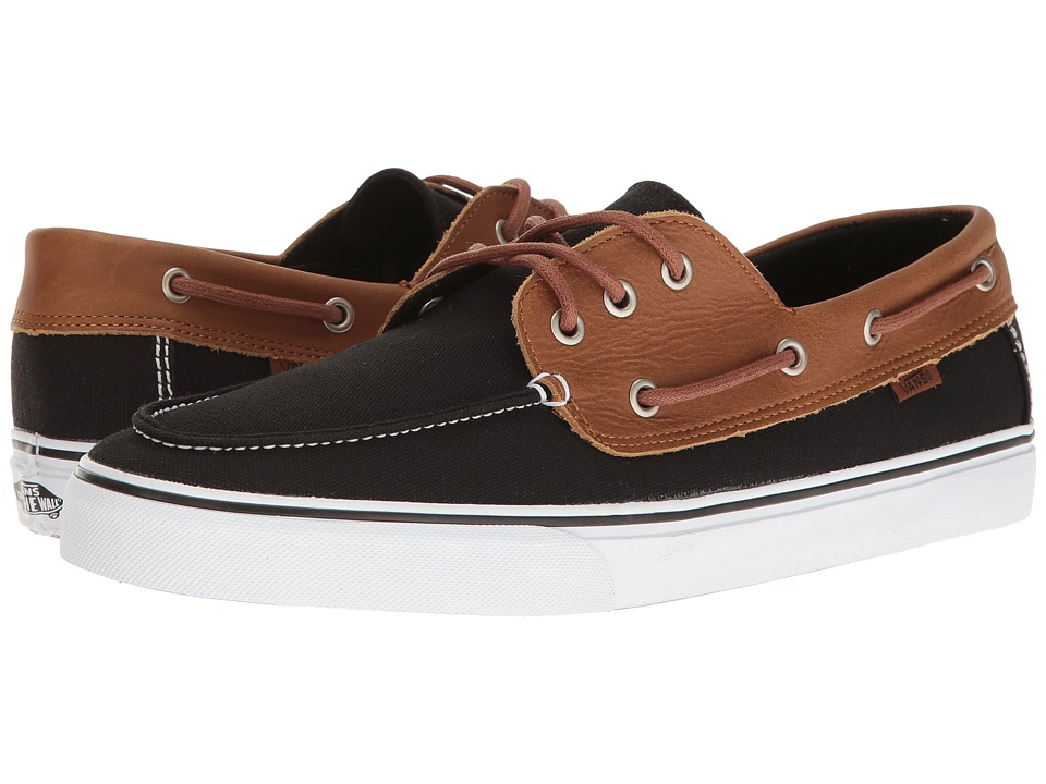 Vans - Chauffeur SF ((C&L) Black/White) Men's Shoes