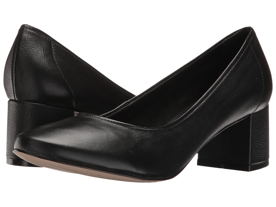 LFL by Lust For Life - Rapport (Black Leather) High Heels