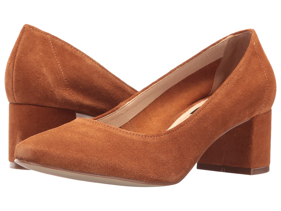 LFL by Lust For Life - Rapport (Cognac Suede) High Heels