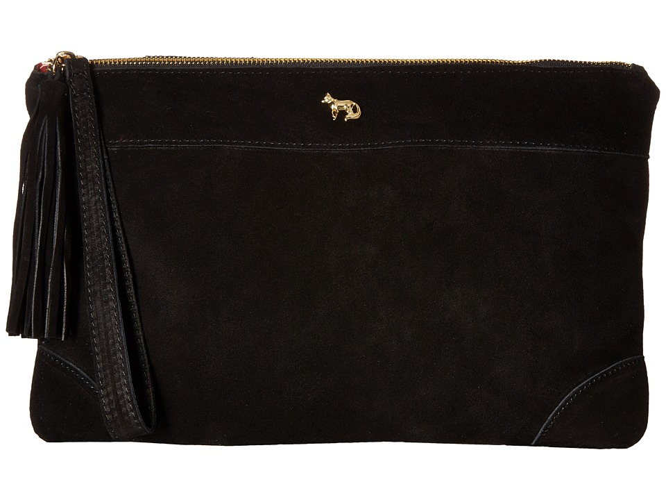 Emma Fox - Dales Clutch (Black) Clutch Handbags
