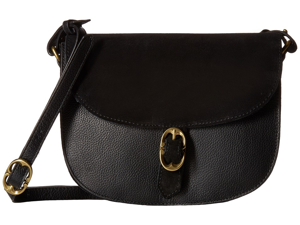 Emma Fox - Dales Saddle Bag (Black) Handbags