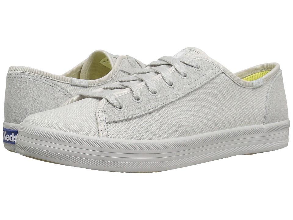 Keds Kickstart Retro Court Mono (Light Gray) Women